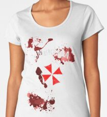 Umbrella Training Facility Vintage Resident Evil (for dark colors) Women's Premium T-Shirt