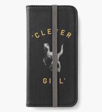 Clever Girl - Dark iPhone Wallet/Case/Skin