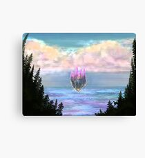 Once upon a Fairy Castle Canvas Print