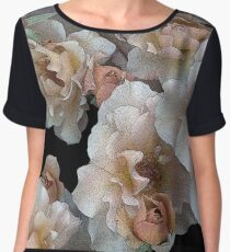 Julia's Rose Chiffon Top