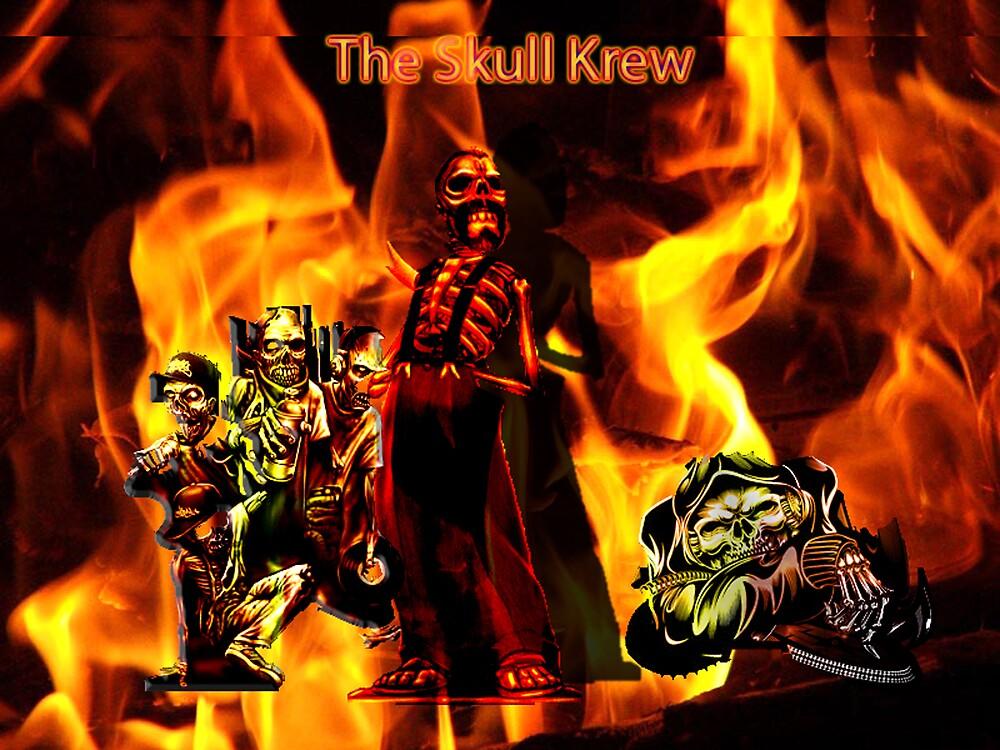 ThE SKULL KREW by Fabian diaz