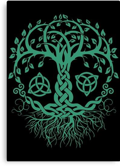 Keltischer Baum Des Lebens Pagan Viking Keltik Und Druidismus