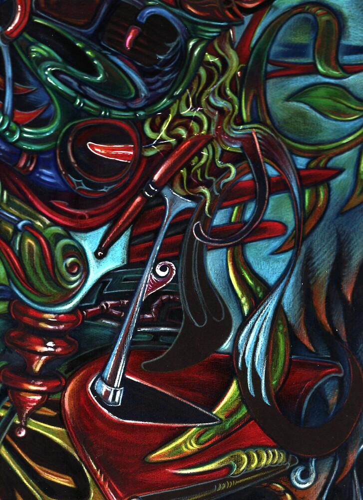 Color On Black by Sam Dantone