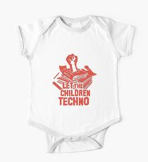 LET THE CHILDREN TECHNO One Piece - Short Sleeve