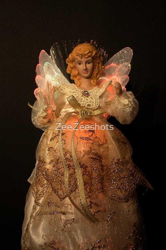 A Glowing Angel  by ZeeZeeshots