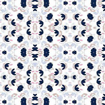 Flower pattern by waarpys