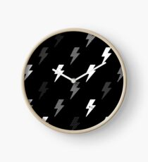 thunder pattern Clock