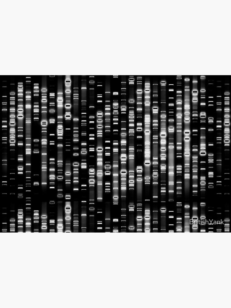 Abstrakte DNA - Schwarz - © Doc Braham; Alle Rechte vorbehalten von BritishYank