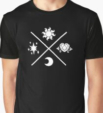 MLP Princesses Symbols Graphic T-Shirt
