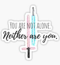 Star Wars - You are not alone. #2 Sticker
