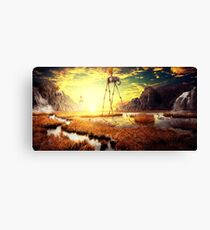 The March of Time Canvas Print