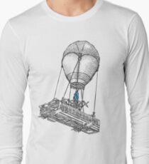 Fortnite Bus Drawing Long Sleeve T-Shirt