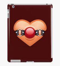 Valentine Ball Gag Heart iPad Case/Skin