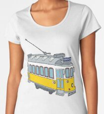Hello from Lisbon Women's Premium T-Shirt