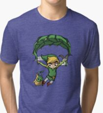 Legend Of Zelda - Wegfliegen Vintage T-Shirt