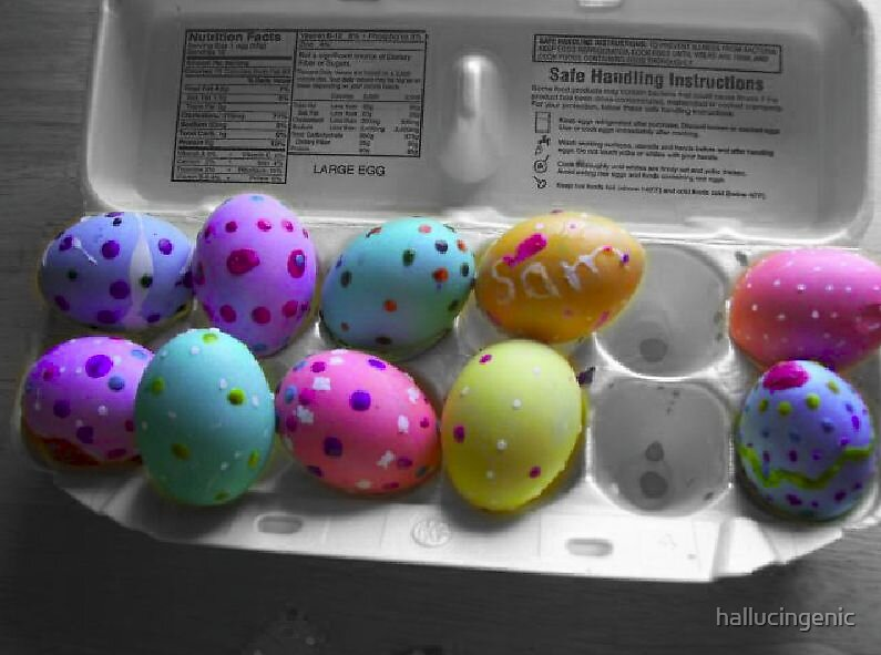 Sam's Easter Eggs by hallucingenic