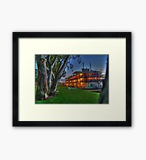 Murray Princess - Mannum Framed Print
