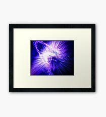 Regeneration in Ultra-Violet Framed Print