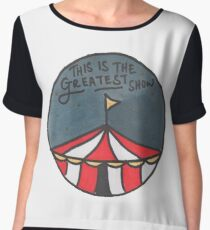 The Greatest Show (Night) Chiffon Top