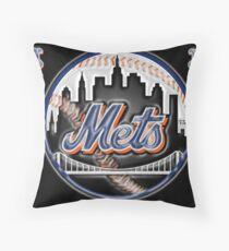 mets Throw Pillow
