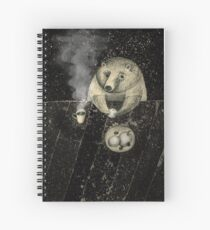 late tea Spiral Notebook