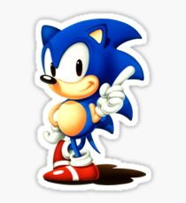Classic Sonic the Hedgehog  Sticker