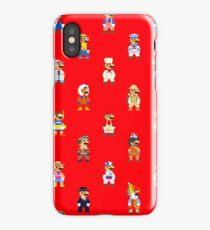 Super Mario Odyssey (Mario 8-bit) - Style 01 iPhone Case/Skin