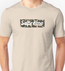 Supreme Camo Unisex T-Shirt