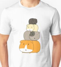 Guinea Pig Stack Unisex T-Shirt