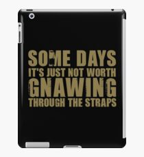 Gnawing Through The Straps iPad Case/Skin