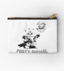 Party Animal Cat Studio Pouch