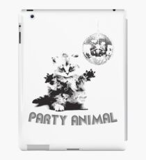 Party Animal Cat iPad Case/Skin