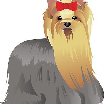 Yorkshire terrier by Marishkayu