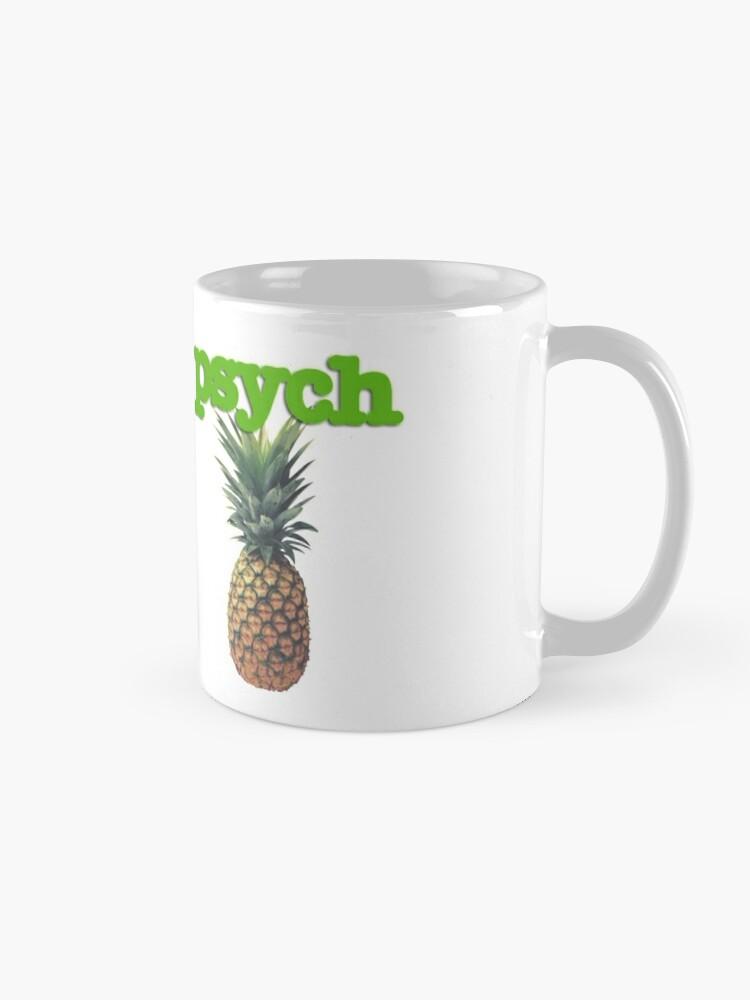 Alternate view of Psych Mug