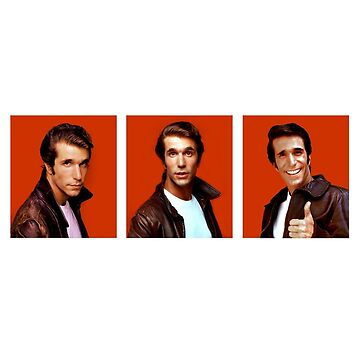 3 FACES OF FONZIE by pinkney