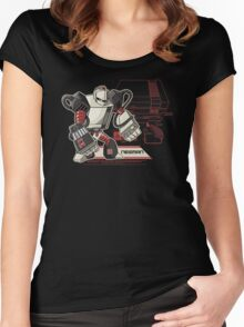 NES Man Women's Fitted Scoop T-Shirt