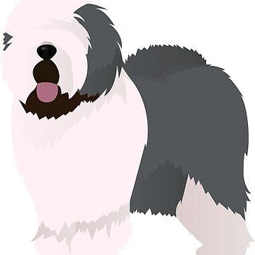 Old english sheepdog by Marishkayu