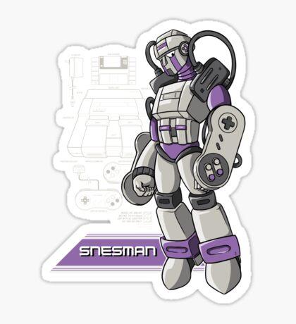 SNES Man Sticker