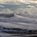 Trotternish Peninsula and Cuillin Mountains Isle of Skye by derekbeattie