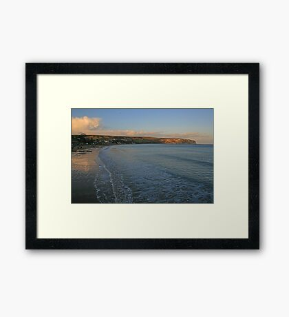 Ballard Down from Swanage Framed Print