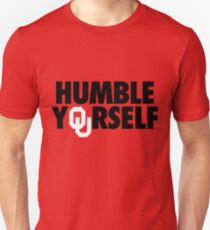 Humble Yourself (Black/White) Unisex T-Shirt