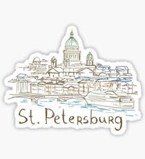 Saint Petersburg Panorama Sticker