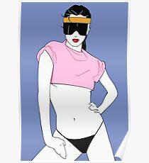 80's Girl (Patrick Nagel) Poster