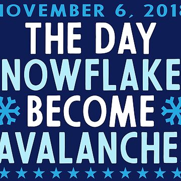 Snowflakes Become Avalanches by machmigo