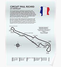 Circuit Paul Ricard Frankreich Poster