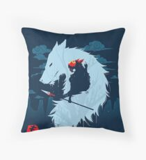 princess mononoke Floor Pillow