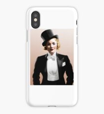 Marlene Dietrich - Colorized iPhone Case/Skin