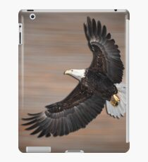 An Artistic Presentation Of The American Bald Eagle iPad Case/Skin