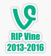 RIP Vine  Sticker