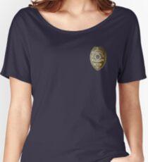 Lucifer Morningstar - Detective Badge Women's Relaxed Fit T-Shirt